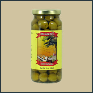 Primo's Anchovy Stuffed Olives