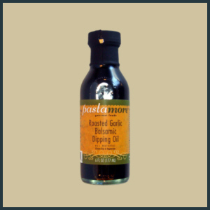 Roasted Garlic Balsamic Dipping Oil - 6.0 Ounce Bottle